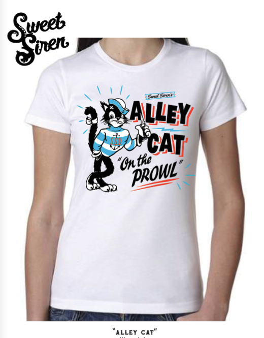 Alley Cat Women's Tee