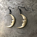 Crescent Moon Earrings - PRE ORDER
