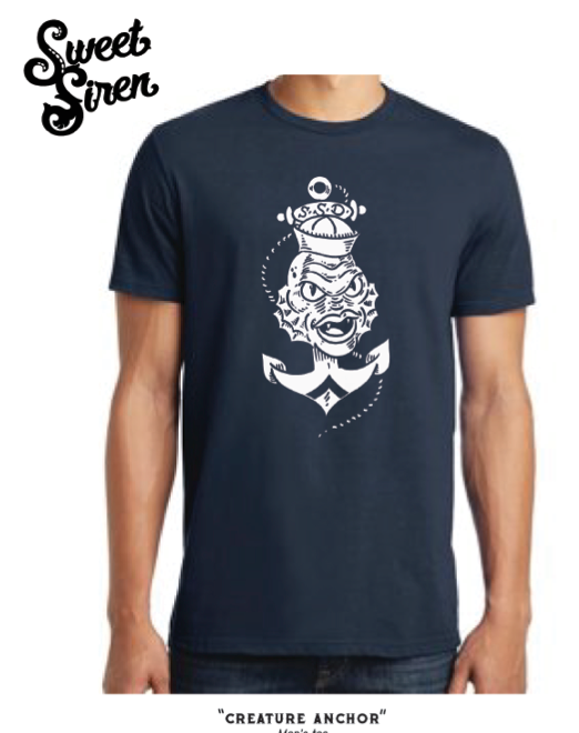 Creature Anchor Unisex Tee