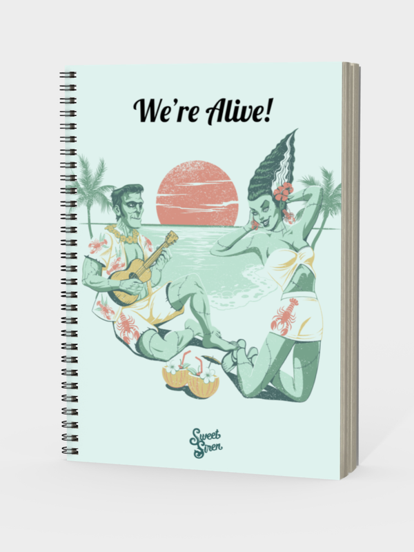 We're Alive!  - Notebook