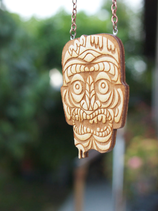 ZOMBIE Tiki Necklace - Small