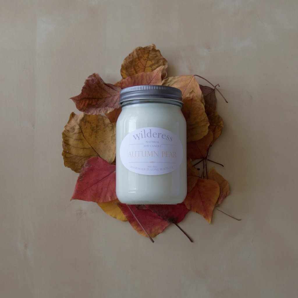 Autumn Pear Soy Candle