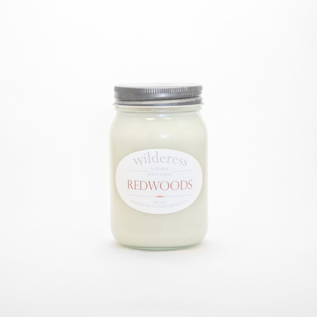 Redwoods Soy Candle