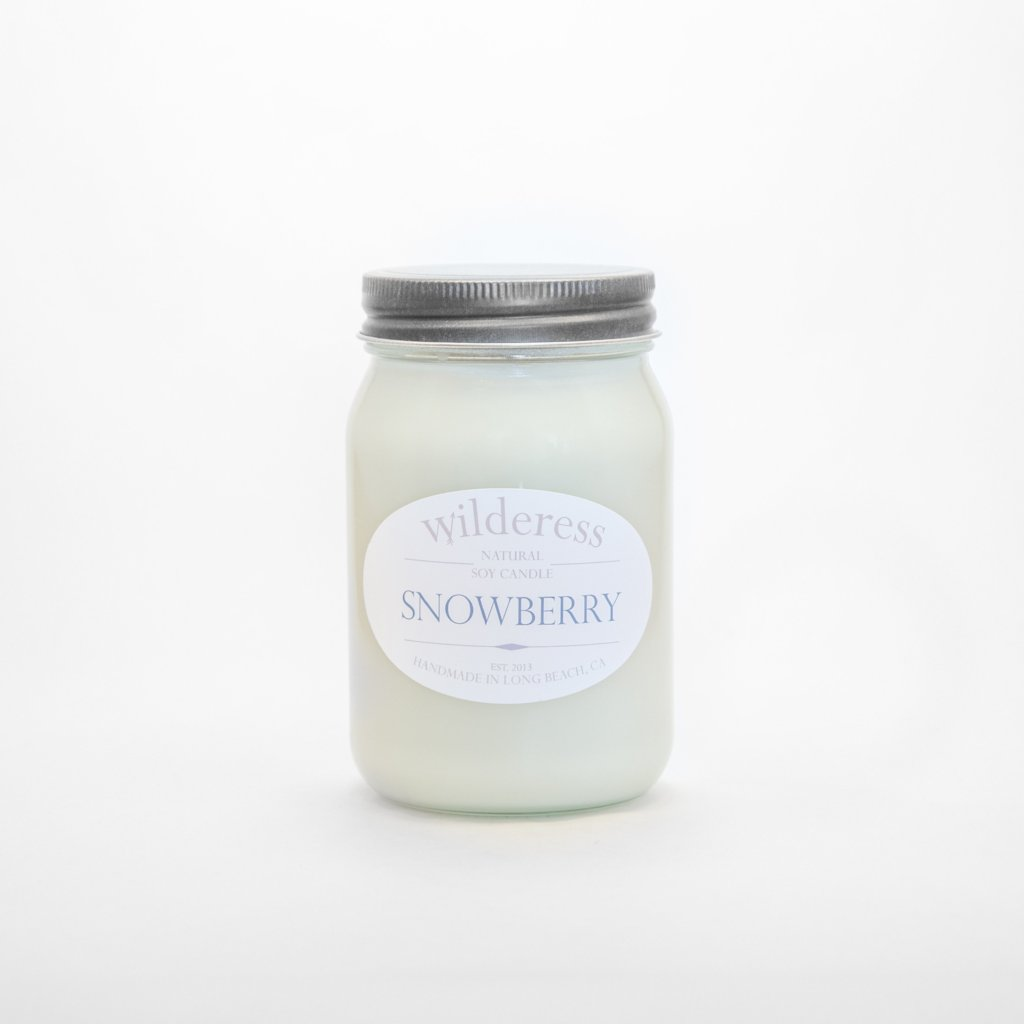 Snowberry Soy Candle