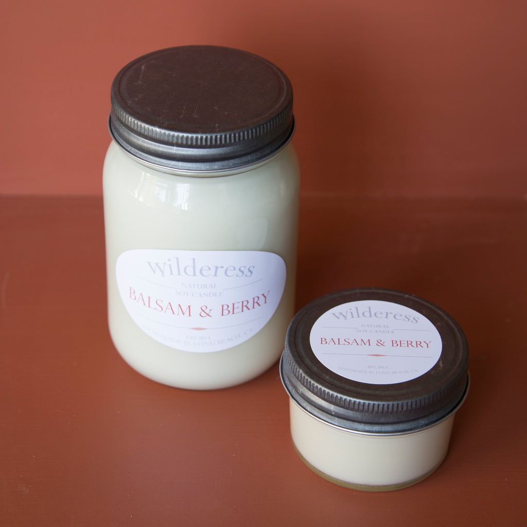 Balsam & Berry Soy Candle