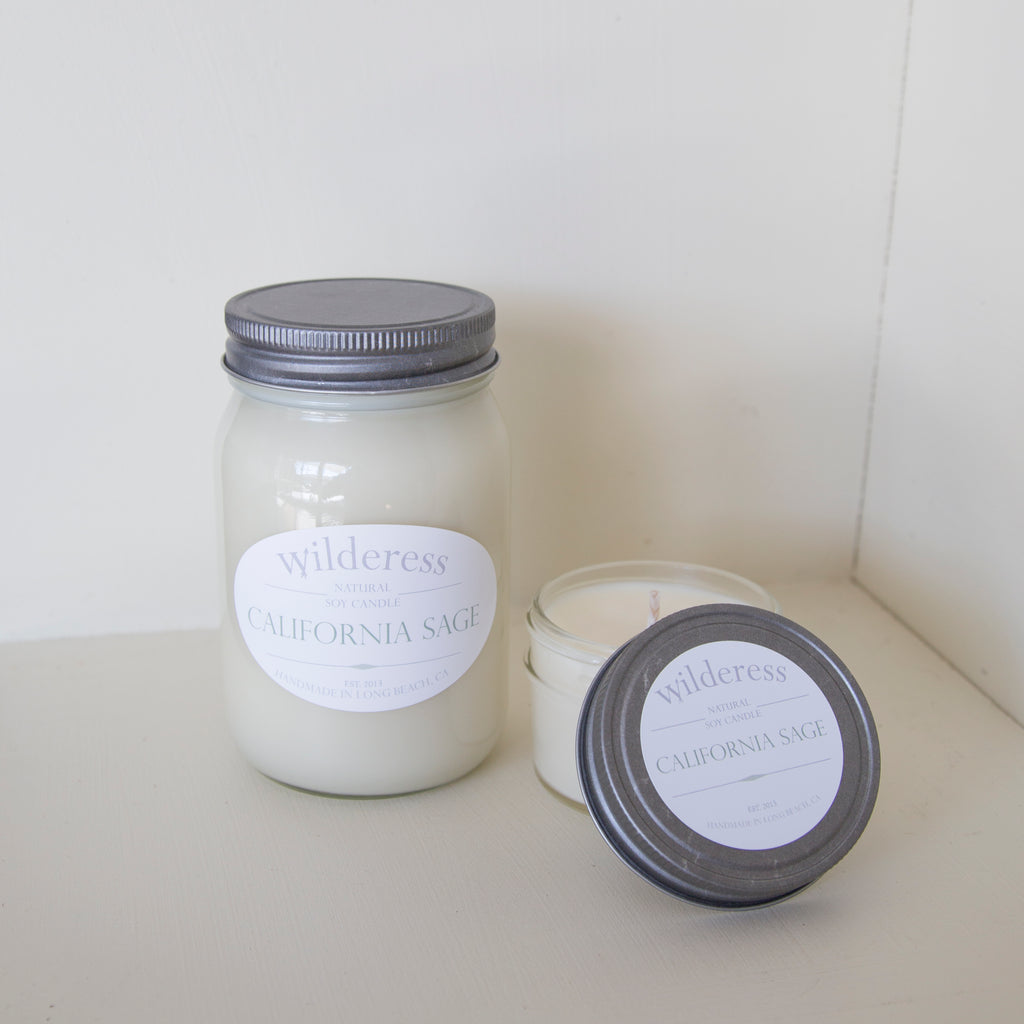 California Sage Soy Candle