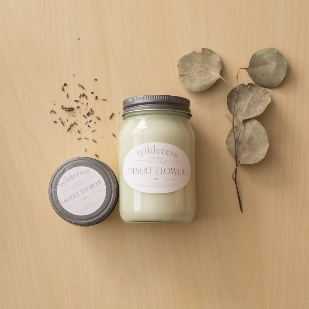 Desert Flower Soy Candle