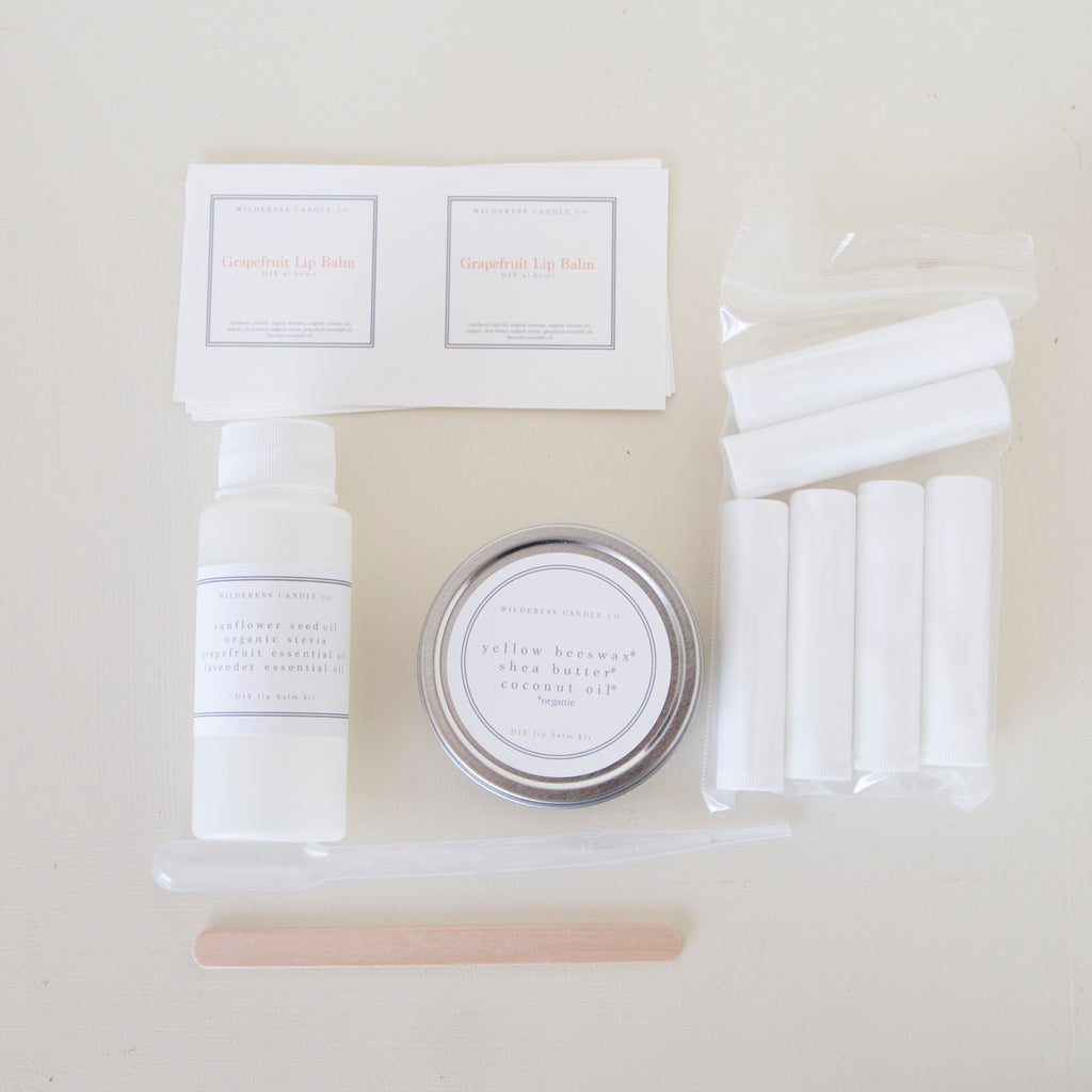 DIY Lip Balm Kit