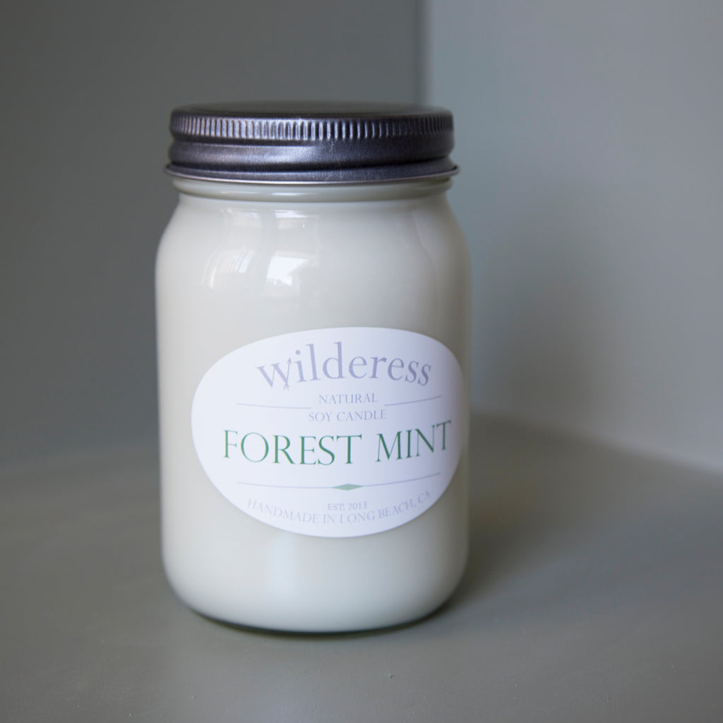 Forest Mint Soy Candle
