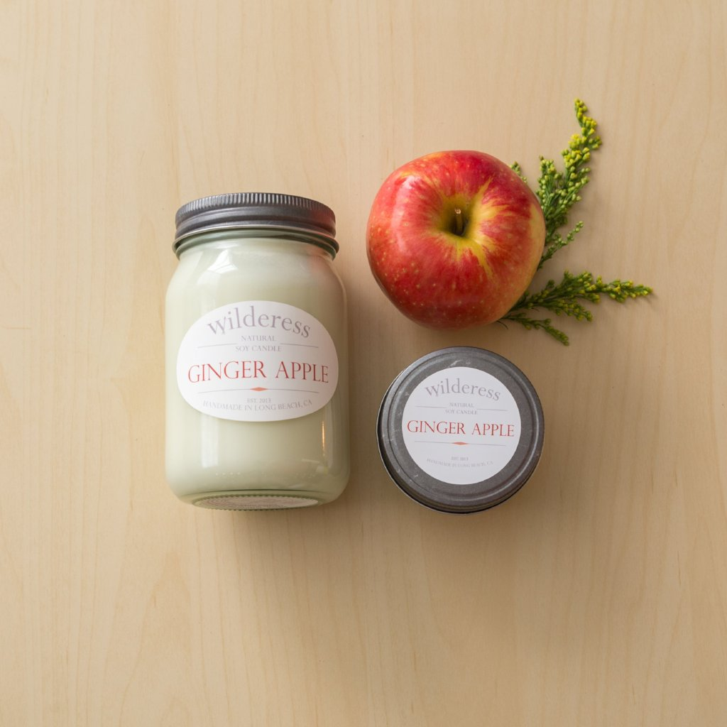 Ginger Apple Soy Candle