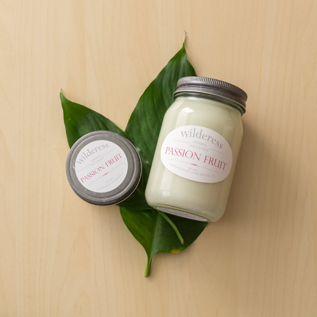 Passion Fruit Soy Candle