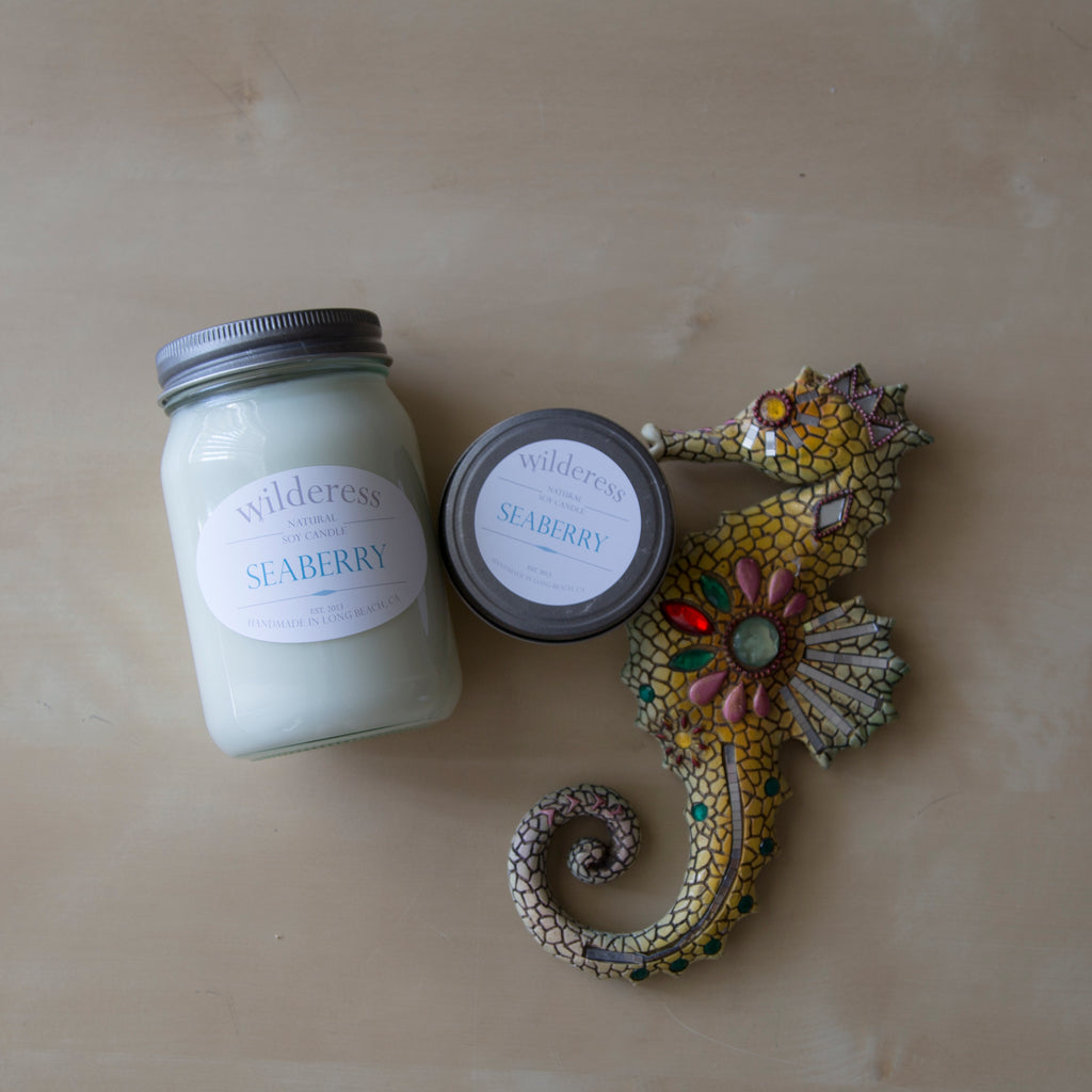 Seaberry Soy Candle