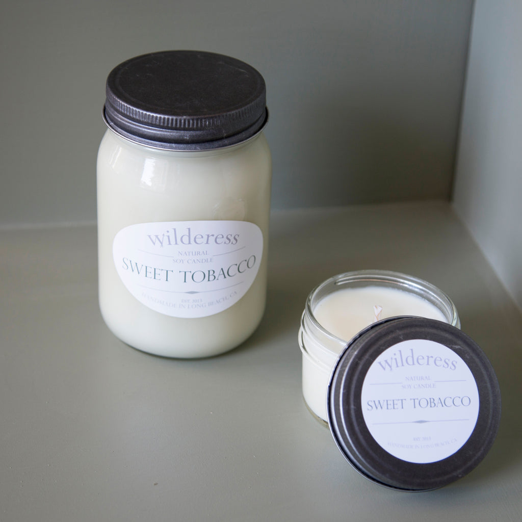 Sweet Tobacco Soy Candle