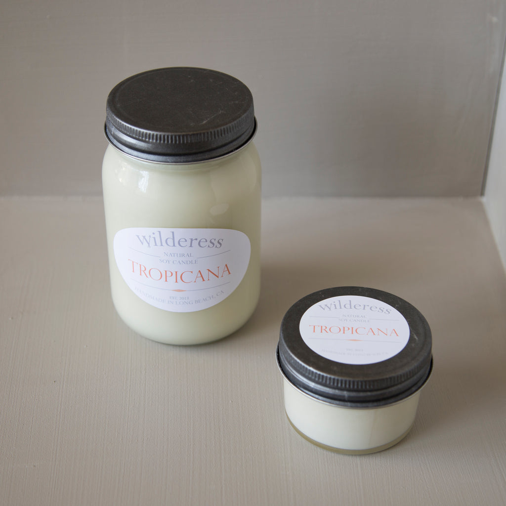 Tropicana Soy Candle