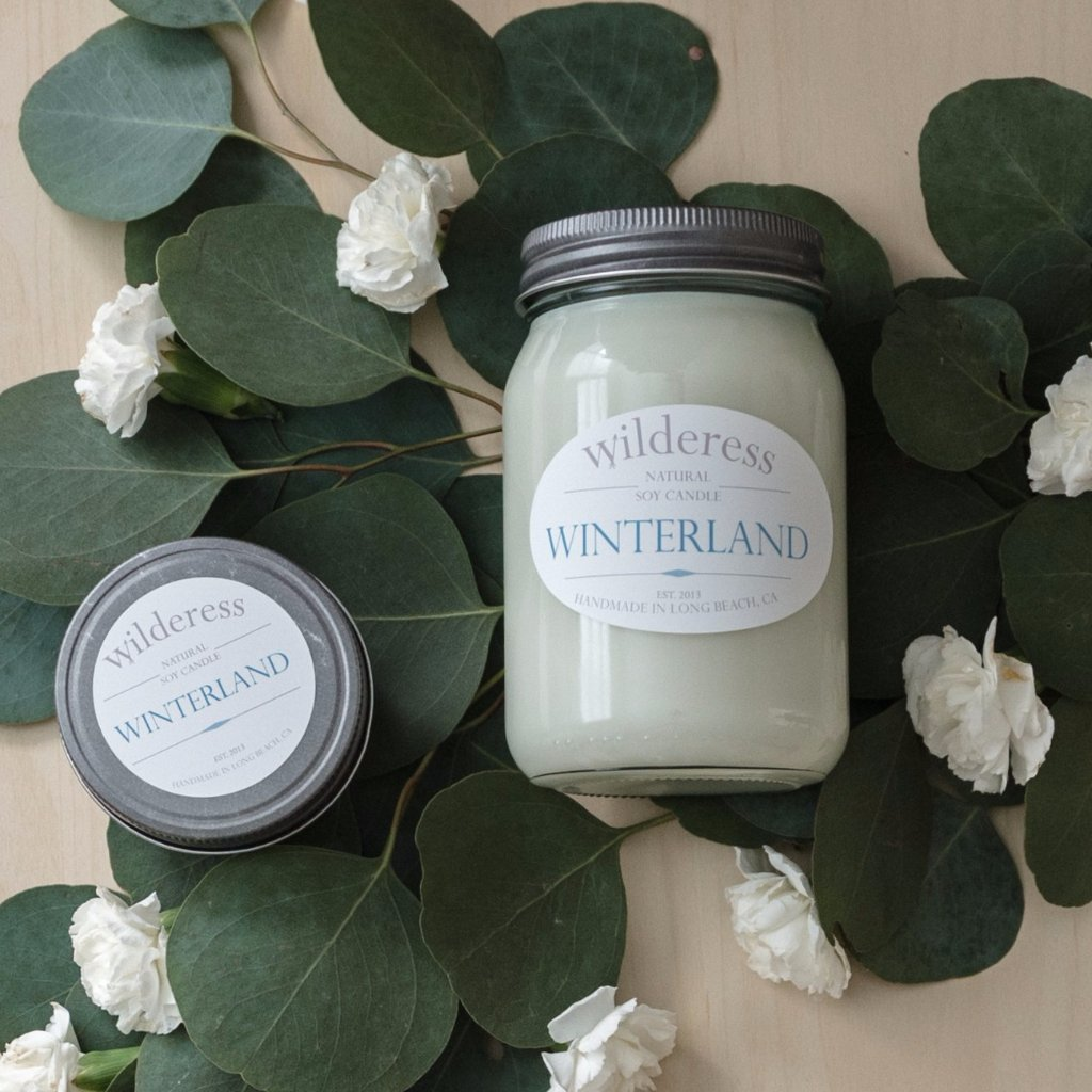 Winterland Soy Candle