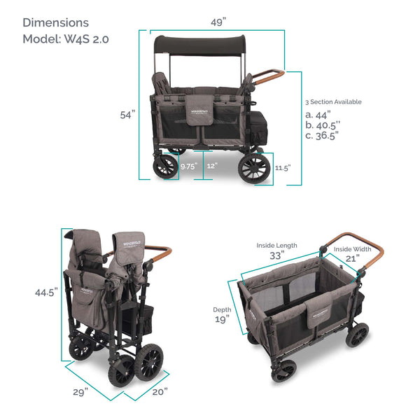 Wonderfold Wagon W4S Specifications