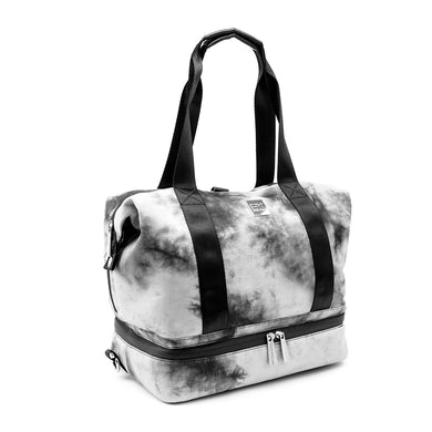 Baby K'Tan Flex Convertible Diaper Bag - Tie Dye Black - Posh Baby Co.