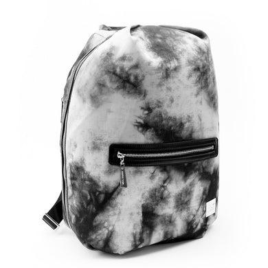 Baby K'Tan Sojourn Backpack Diaper Bag - Tie Dye Black - Posh Baby Co.