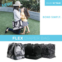 Load image into Gallery viewer, Baby K'Tan Flex Convertible Diaper Bag - Mesh Black - Posh Baby Co.