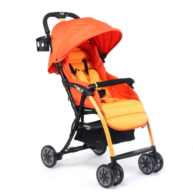 Pali Tre.9 Fitness Fashion Stroller - Sao Paolo Orange - Posh Baby Co.