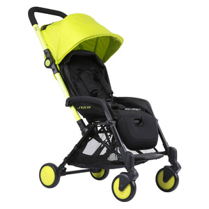 Pali Sei.9 Compact Travel Stroller - Vancouver Yellow - Posh Baby Co.
