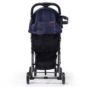 Pali Tre.9 Denim Attitude Stroller - Denver Blue - Posh Baby Co.