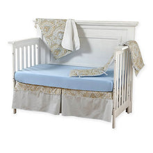 Load image into Gallery viewer, Pali Regale 4-Piece Crib Bedding Set - Blue Sheet - Posh Baby Co.