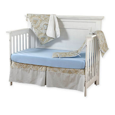 Pali Regale 4-Piece Crib Bedding Set - Blue Sheet - Posh Baby Co.