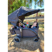 Load image into Gallery viewer, Keenz Class Stroller Wagon - Black - NEW 2020 - Posh Baby Co.