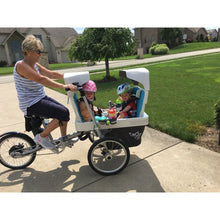 Load image into Gallery viewer, Taga Family Cargo Bike Child Seat Sun Hood - Posh Baby Co.