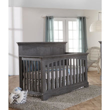 Load image into Gallery viewer, Pali Ragusa Convertible Crib - Distressed Granite