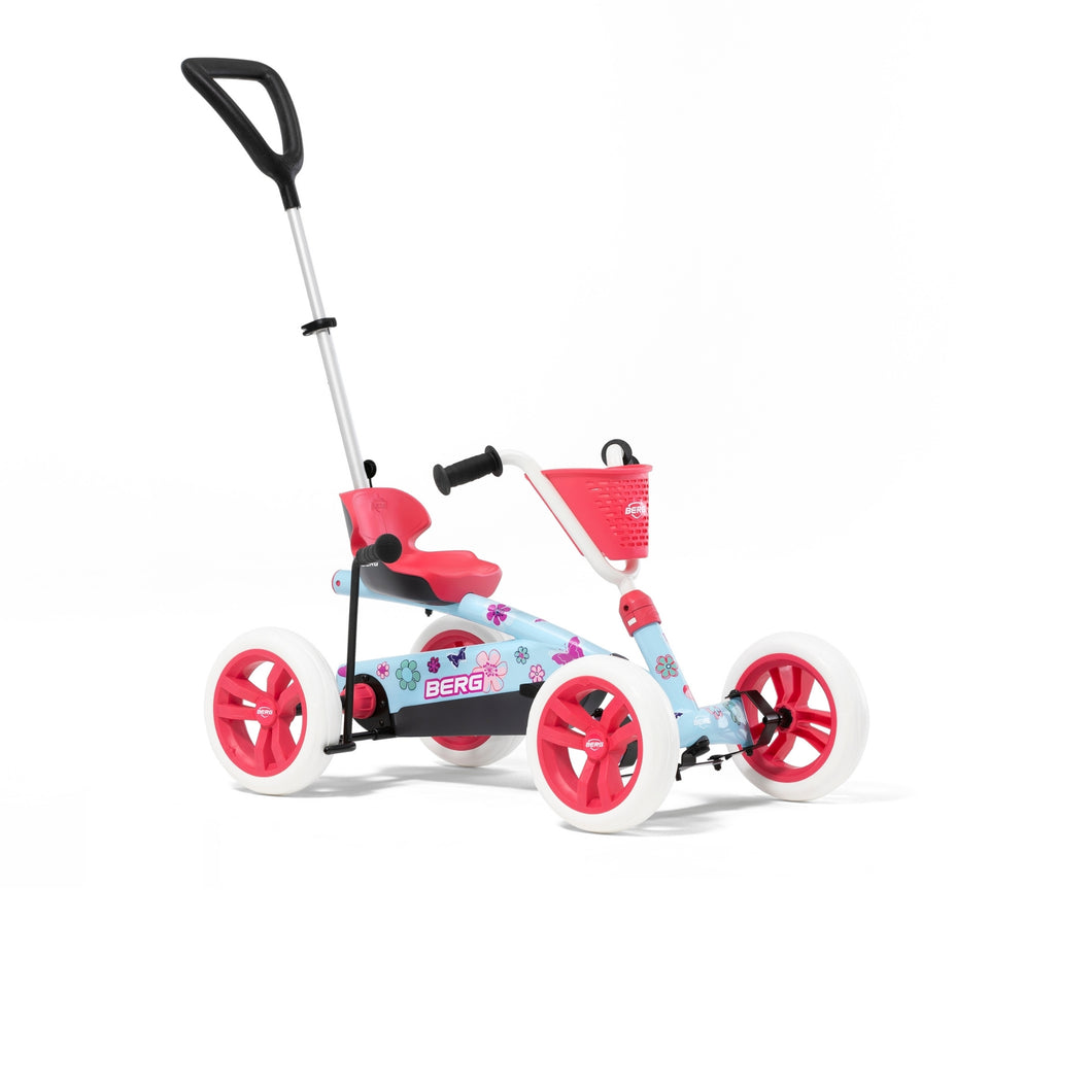 BERG Toys Buzzy Bloom 2-In-1 Pedal Go-Kart