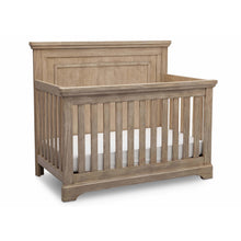 Load image into Gallery viewer, Delta Children Simmons Kids Paloma 5-Piece Baby Nursery Furniture Set - Rustic Driftwood - Posh Baby Co.