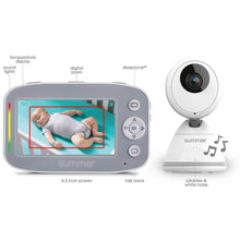 Load image into Gallery viewer, Summer Infant Baby Pixel® Cadet™ 4.3 Inch Color Video Monitor - Posh Baby Co.