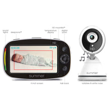 Load image into Gallery viewer, Summer Infant Baby Pixel® Zoom HD™ Duo 5.0 Inch High Definition Video Monitor - Posh Baby Co.