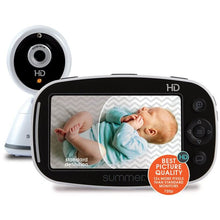 "Load image into Gallery viewer, Summer Infant Summer Baby Pixel Zoom HD 5.0"" High Definition Video Monitor - Posh Baby Co."