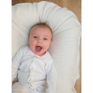 Snuggle Me Organic Bare Lounger - Moss - Posh Baby Co.