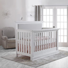 Load image into Gallery viewer, Pali Modena Forever Convertible Crib - Vintage White - Posh Baby Co.
