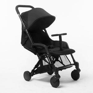 Pali Sei.9 Compact Travel Stroller - New York Black - Posh Baby Co.
