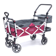 Load image into Gallery viewer, Titanium Series Stroller Wagon - Pink - Posh Baby Co.