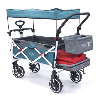 Titanium Series Stroller Wagon - Teal - Posh Baby Co.