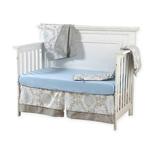 Load image into Gallery viewer, Pali Stella 4-Piece Crib Bedding Set - Blue - Posh Baby Co.
