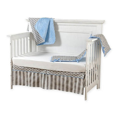 Pali Sogno 4-Piece Crib Bedding Set - Cream Sheet - Posh Baby Co.