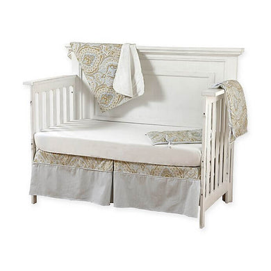 Pali Regale 4-Piece Crib Bedding Set - Cream Sheet - Posh Baby Co.