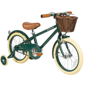 Bandwood Classic Pedal Bike - Green