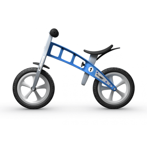 FirstBIKE Basic Balance Bike - Blue - Posh Baby Co.
