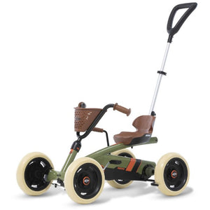 BERG Toys Buzzy Retro 2-In-1 Pedal Go-Kart - Green
