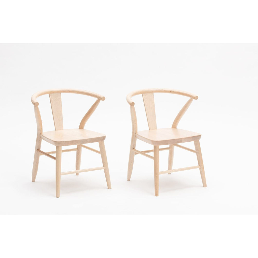Milton & Goose Crescent Chair Set (Pair)
