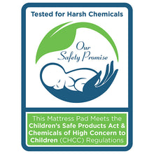 Load image into Gallery viewer, Sealy Healthy Grow Plush Crib Mattress Pad - Posh Baby Co.