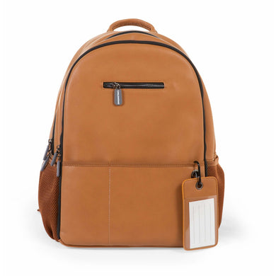 ChildHome Leatherlook Backpack - Brown - Posh Baby Co.